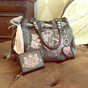 Juicy Couture tote and wallet